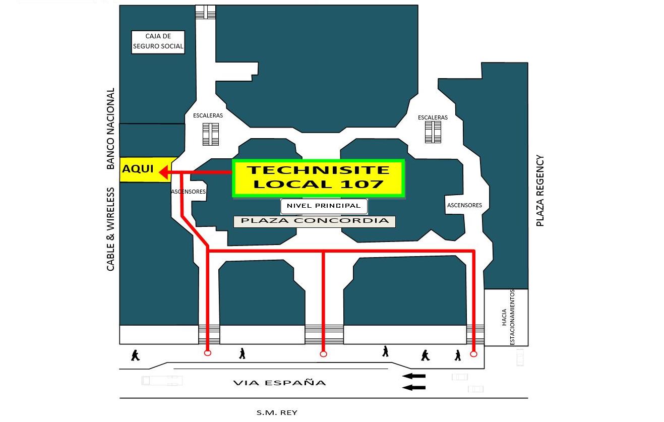 Technisite ubicacion