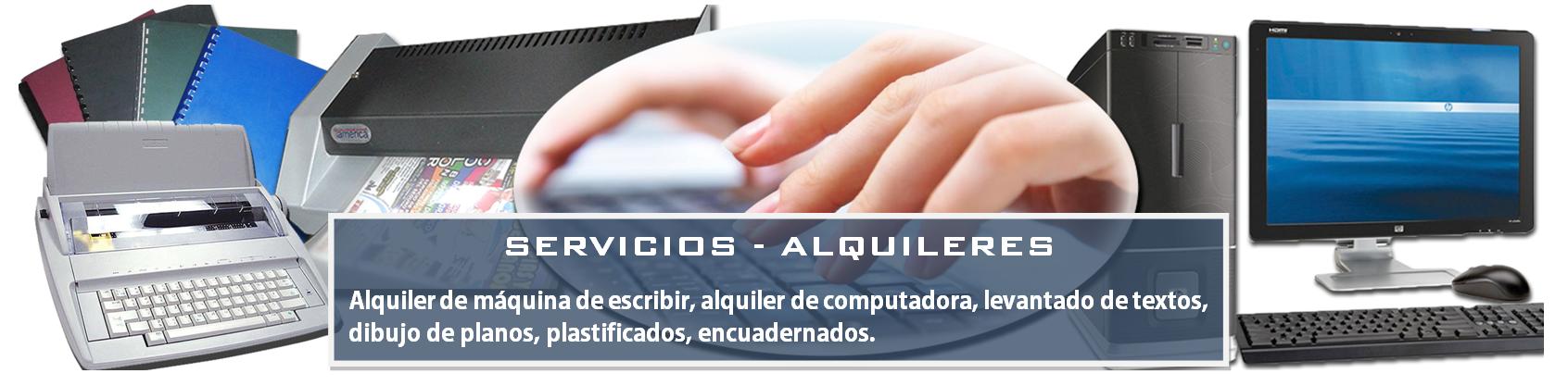 Alquiler computadora Technisite
