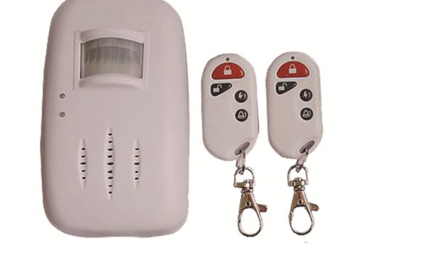 Alarma residencial tipo sensor de movimiento